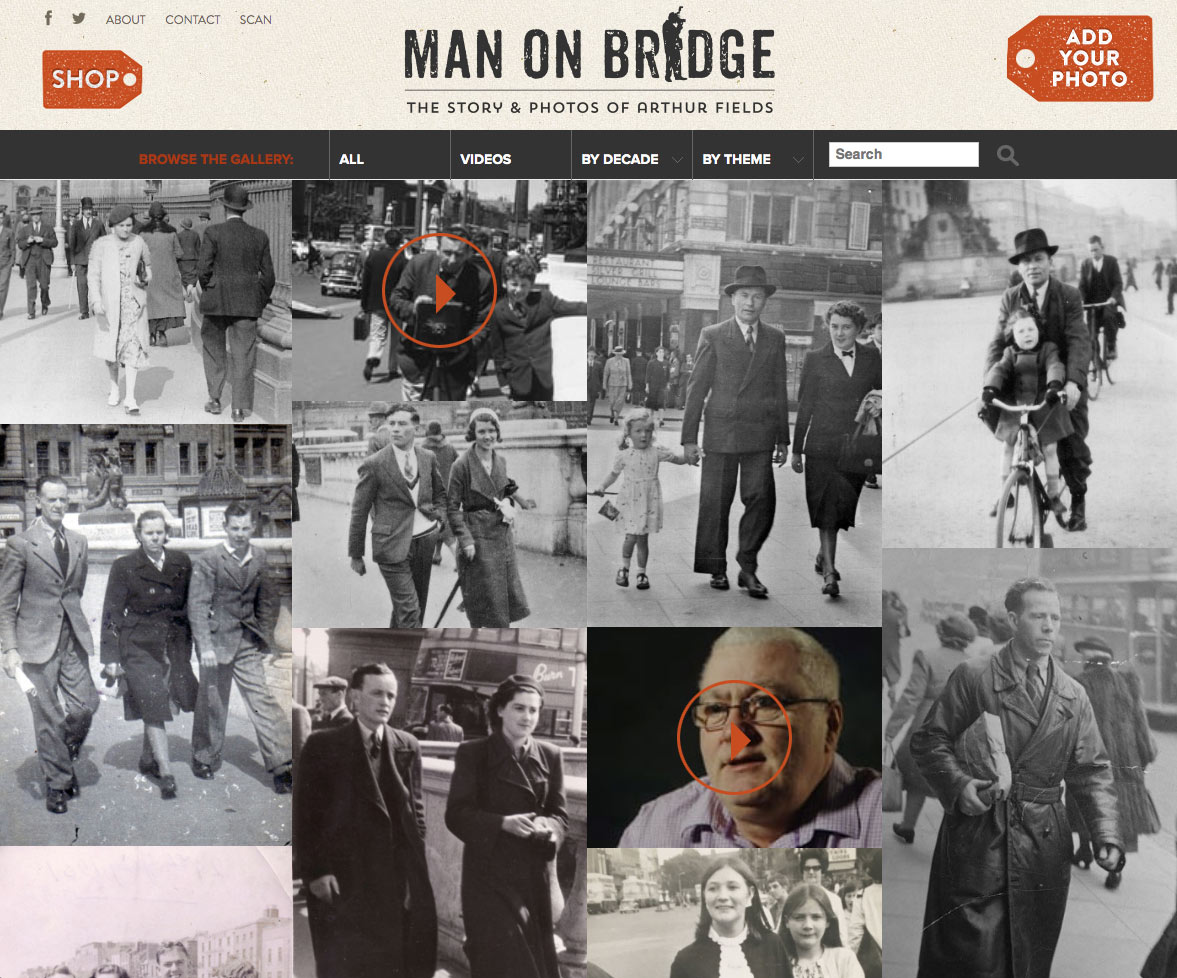 Man On Bridge homepage